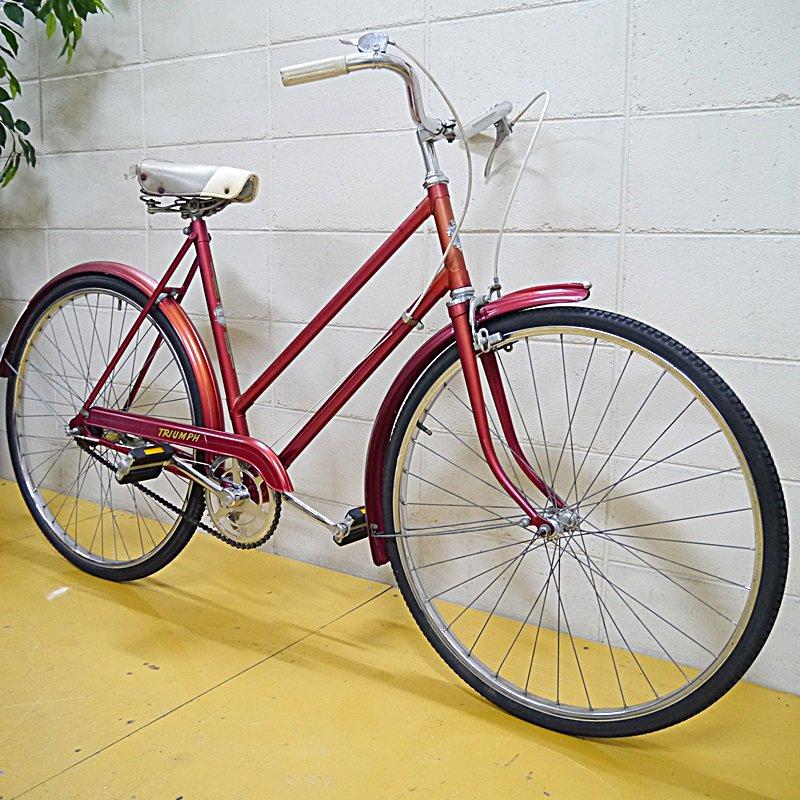 Vintage自転車 TRIUMPH style=