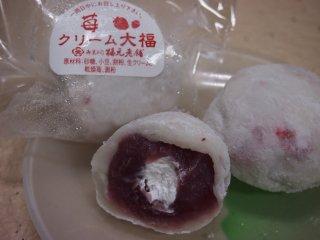 苺クリーム大福