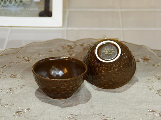 マニー チョコラタン 陶器シュガーカップ