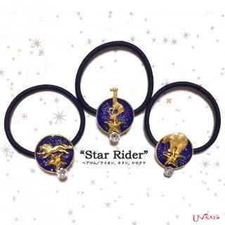 """""""Star Rider""""ヘアゴム(3種)"""
