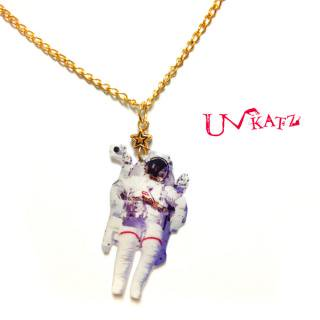 【OUTLET】Ukatz NO.145 宇宙飛行士ネックレス