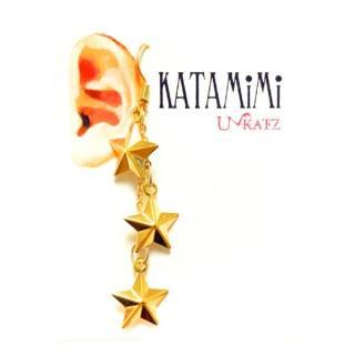 KATAMiMi NO.27 キラキラ星の片耳ピアス