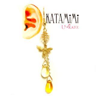 KATAMiMi NO.48 ハチの片耳ピアス