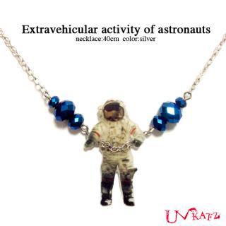 Ukatz NO.469 宇宙飛行士の船外活動ネックレス