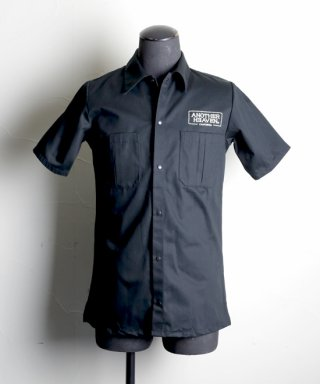 ANOTHER HEAVEN / Work shirt / AHWS-101-BK