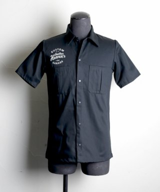ANOTHER HEAVEN / Work shirt / AHWS-102-BK