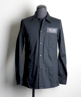ANOTHER HEAVEN / Work shirt / AHWS-103-BK