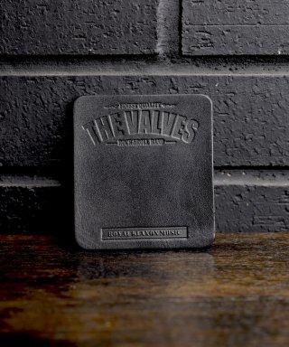THE VALVES / Lether coaster / TVLC-001-BK