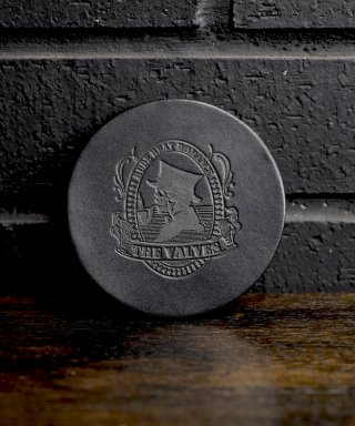 THE VALVES / Lether coaster / TVLC-002-BK