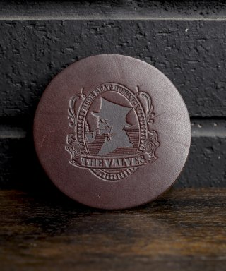 THE VALVES / Lether coaster / TVLC-002-BR