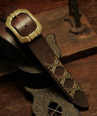 Beast Hate / Belt / BBT-002(Brown)