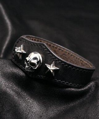 L,S,D / Leather Bracelet / LB-001