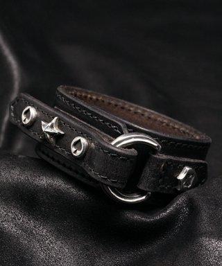 L,S,D / Leather Bracelet / LB-005