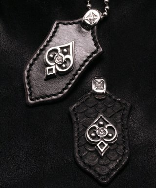 L,S,D / Leather Pendant / LLP-001