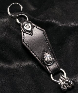 L,S,D / Leather Key Chain / LK-003