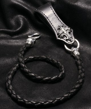 L,S,D / Leather Wallet Cord / LLWC-001