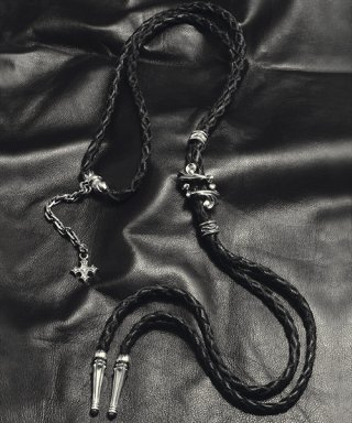 L,S,D / Leather Bolo Tie / UGLLT-001