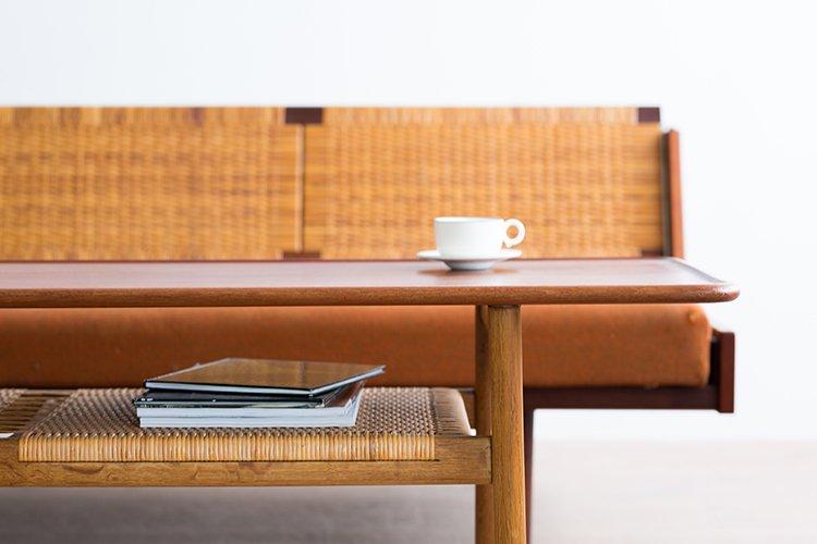 Hans J Wegner  AT10 コーヒーテーブル チークオーク【倉庫ストックからのご案内】