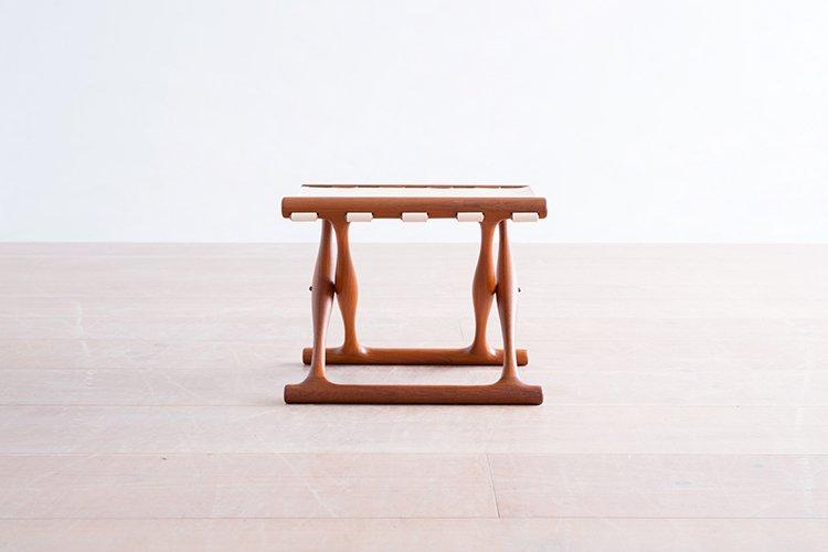 Poul Hundevad model.41 スツール チーク