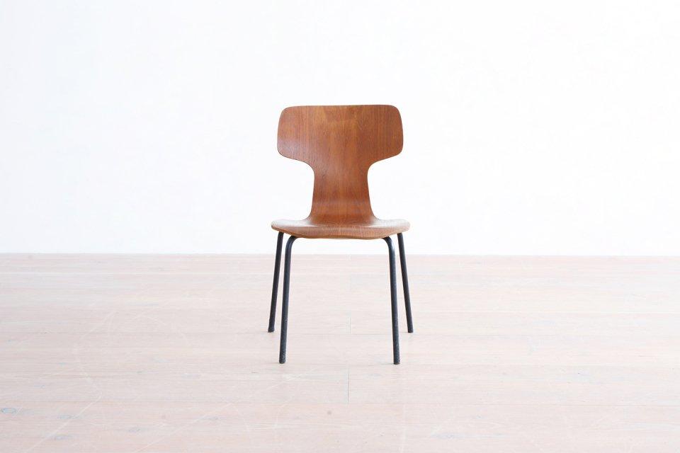 Arne Jacobsen キッズ Tチェア チーク