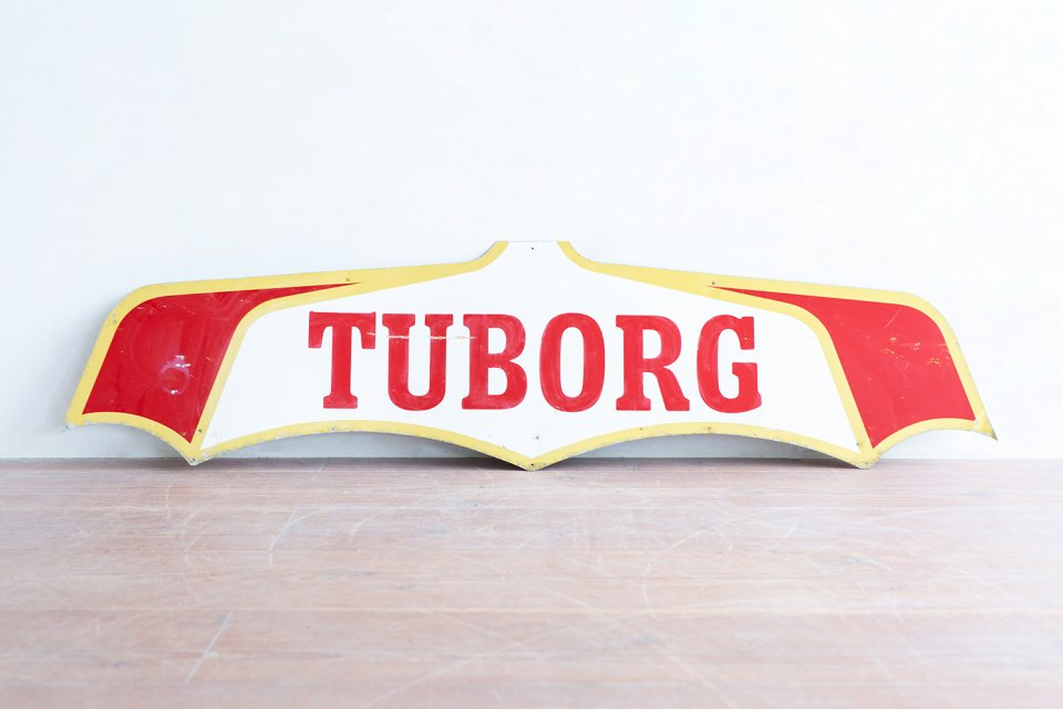 TUBORG サインプレート