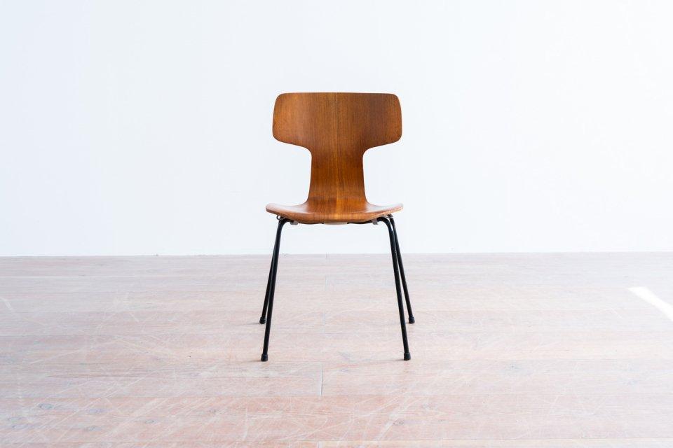 Arne Jacobsen model.3103 Tチェア チーク