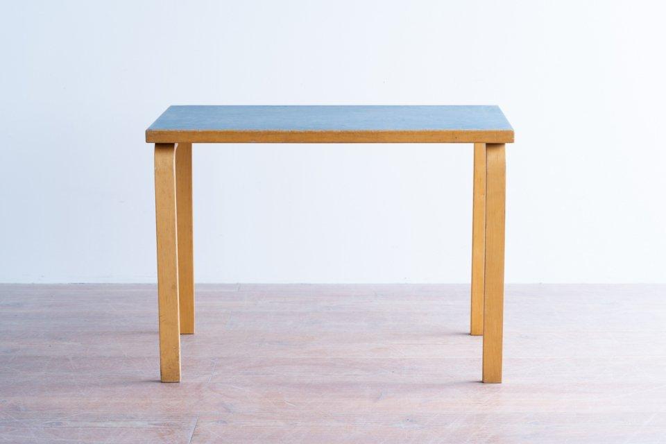 Alvar Aalto 80B テーブル  リノリウムブルー