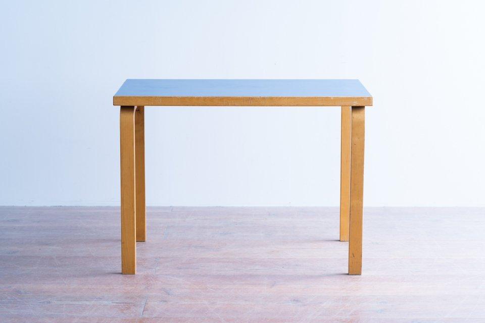 Alvar Aalto 80B テーブル  ラミネートブルー
