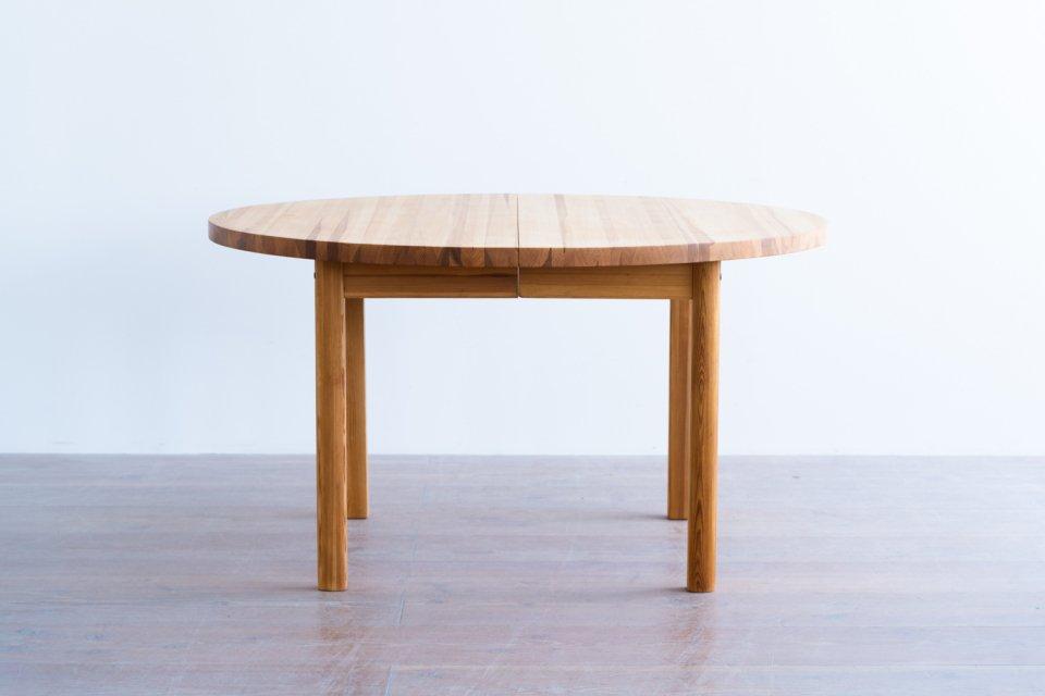 ラウンドダイニングテーブル パイン