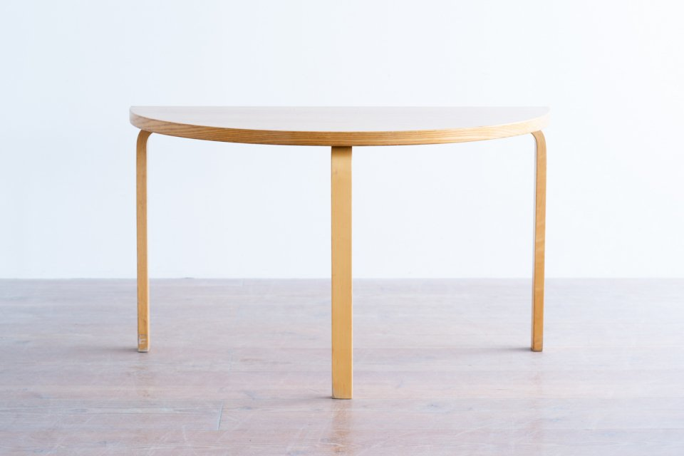 Alvar Aalto 95 半円テーブル アッシュ