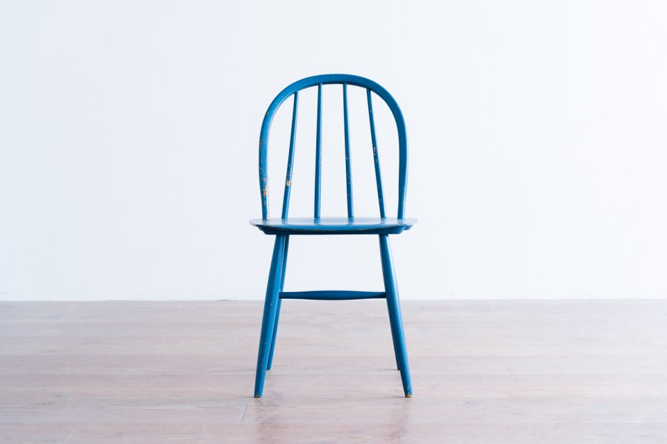 Ilmari Tapiovaara ファネットチェア 4S ブルー