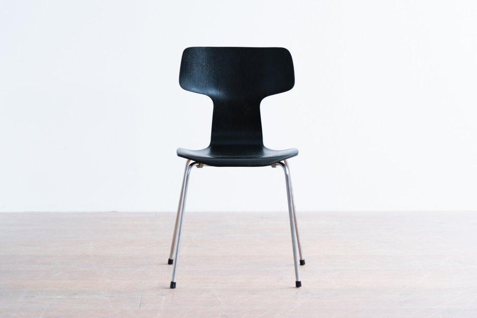 【わけあり】 Arne Jacobsen model.3103 Tチェア ブラック