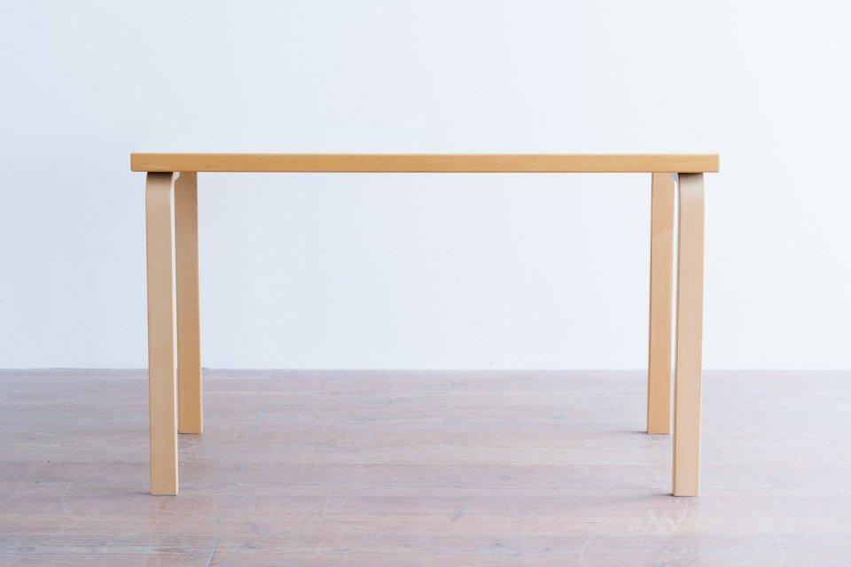 Alvar Aalto 80A テーブル ラミネートホワイト
