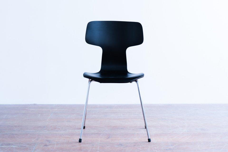 Arne Jacobsen model.3103 Tチェア ブラック