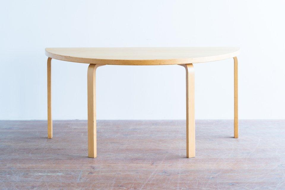 Alvar Aalto 半円テーブル アッシュ