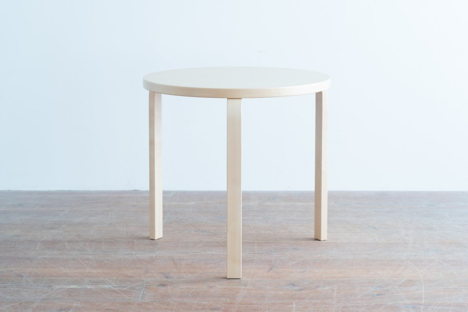 Alvar Aalto 90B ラウンドテーブル  ナチュラル
