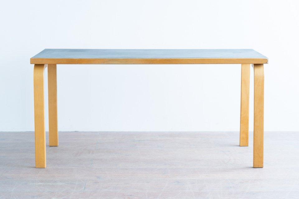 Alvar Aalto 81A テーブル  リノリウム ブラック