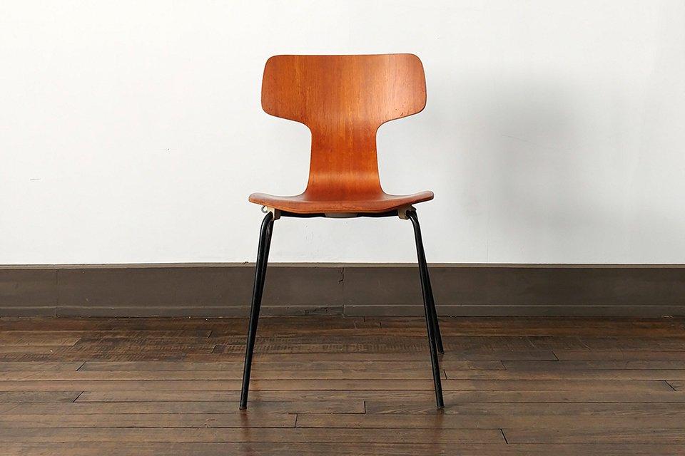 Arne Jacobsen model.3103 Tチェア チーク【Free Shipping】