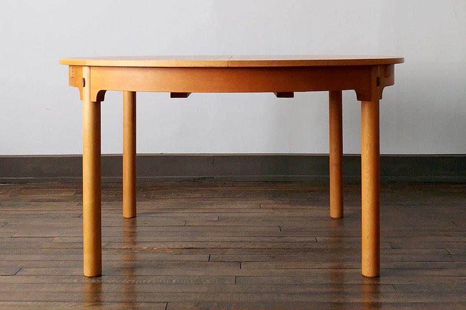 Borge Mogensen 'Oresund' ラウンドダイニングテーブル オーク