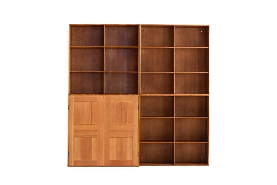 Mogens Koch  Cabinet & Book Case Set
