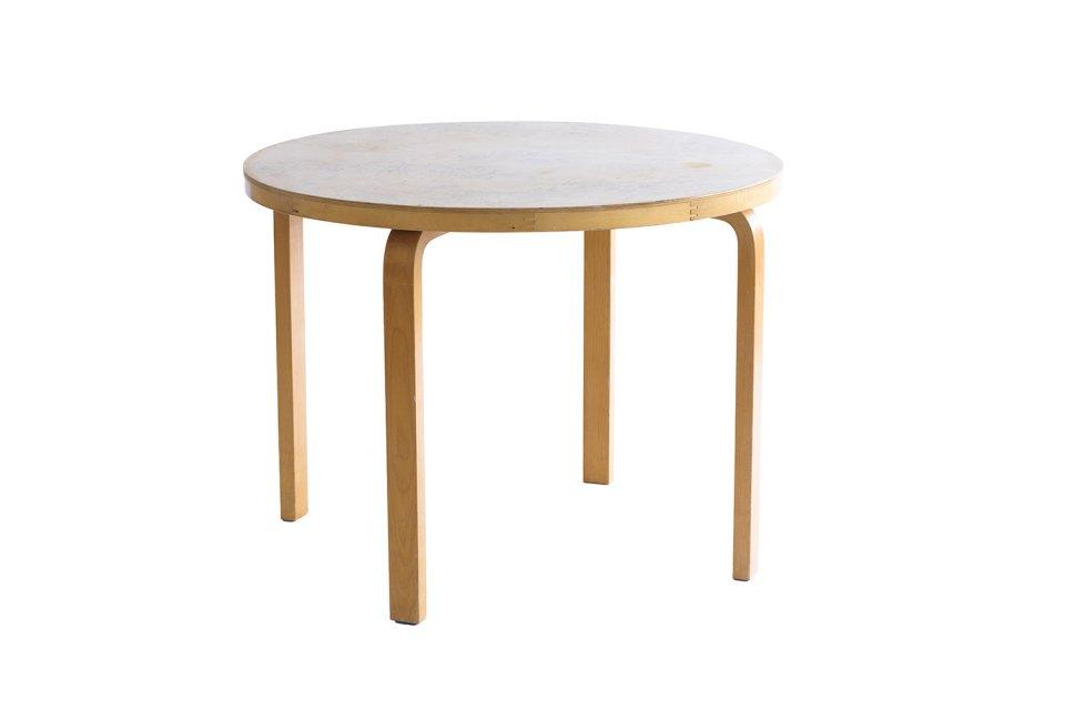 Round Table -Karelian birch- 1940-50s