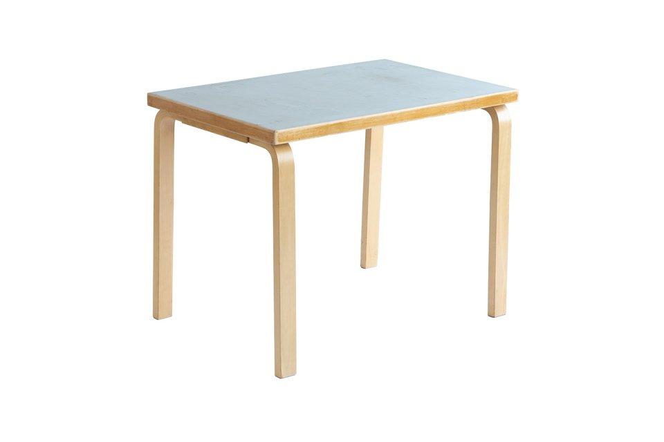 Table -Gray Linoleum- 1950s