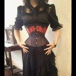 オーダーコルセット【薔薇の葬送】(K.victoria+Ideal Abyss+Gothic Holic)