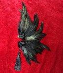 闇鴉の羽根飾り☆