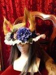 耳しっぽカンカン帽(狐・猫)キャンペーンマスク付