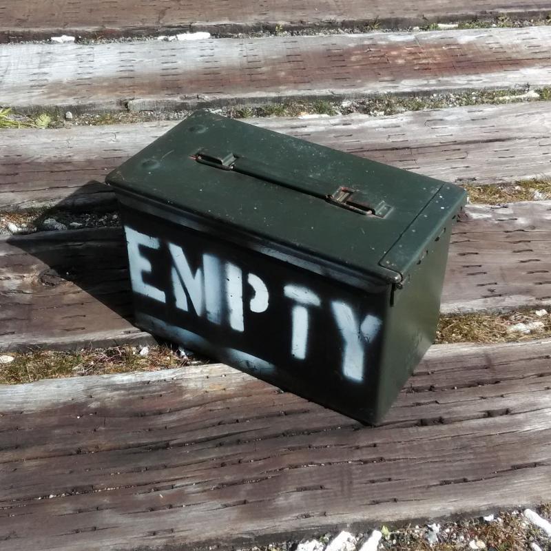 US AMMO BOX アメリカ軍 弾薬箱