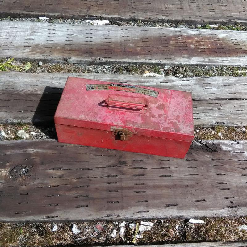 VINTAGE U.S.A. TOOL BOX 工具箱