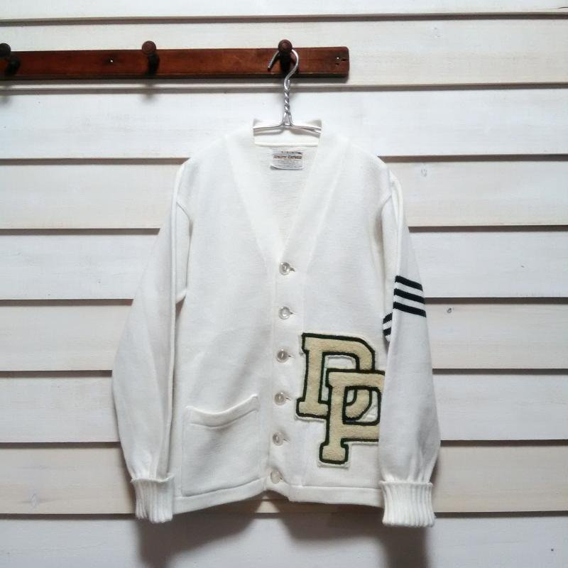 80's Lettered cardigan