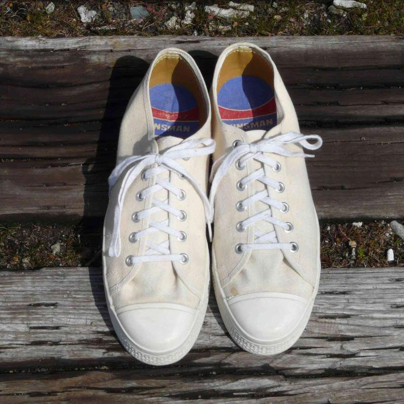 1970's Dead Stock MADE IN U.S.A. KINSMAN キャンバススニーカー  Size9(27.0CM)