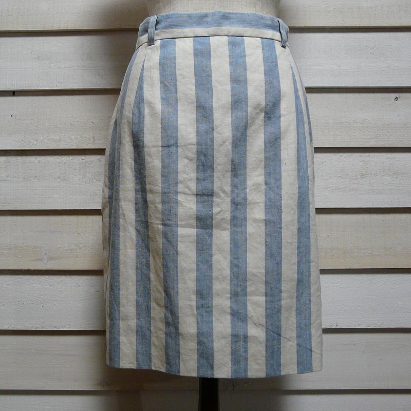 DEAD STOCK U.S.A. Ralph Lauren リネンコットン アメリカ製 ラルフローレン 古着 スカート